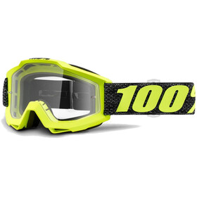 100% Accuri Anti Fog Clear Gafas enduro, tresse